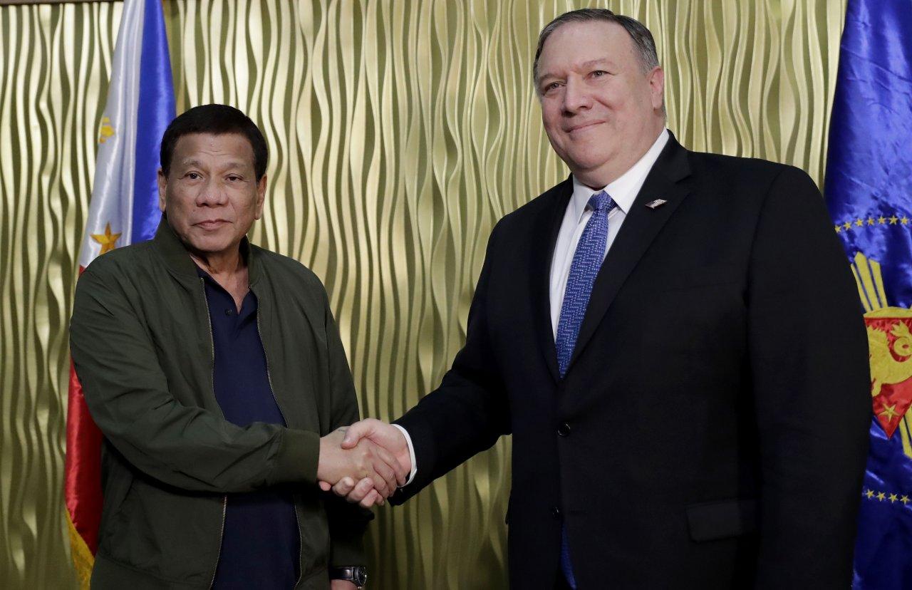 菲律賓重新加入美國聯盟 恐激怒新朋友中國