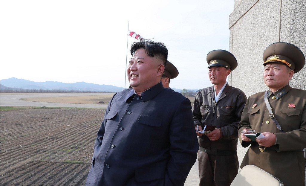 避談川普 金正恩:試射飛彈是給南韓警告