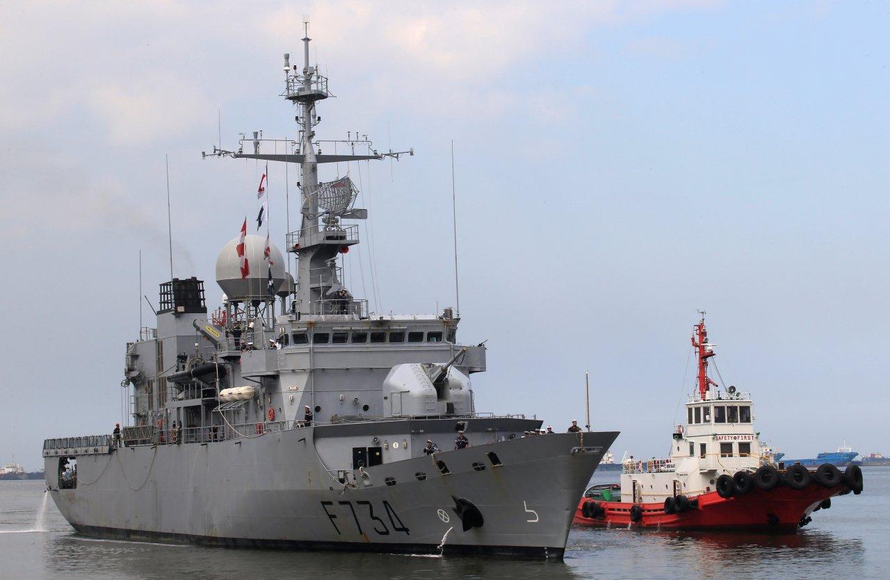 路透:法軍艦罕見通過台灣海峽 恐升高與中國緊張