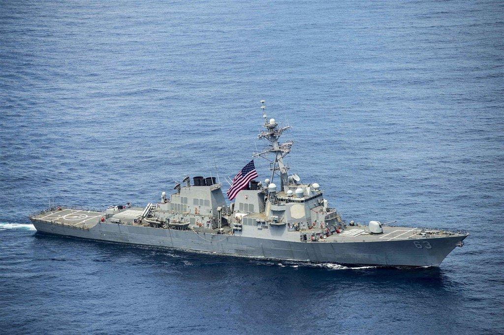 展現自由印太承諾 美證實2艘軍艦航經台海