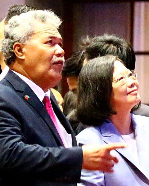 邦誼篤睦 吐瓦魯總統訪台