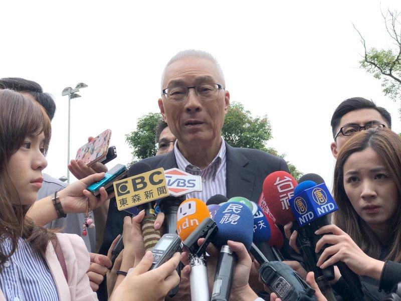 吳敦義:不論主動被動  參加初選一定要登記繳費
