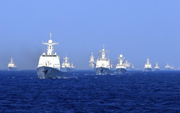 法媒:中國海軍發展快 專家憂北京有自信侵台