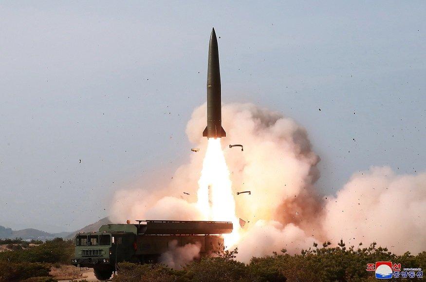 北韓又試射 美官員:疑為短程飛彈