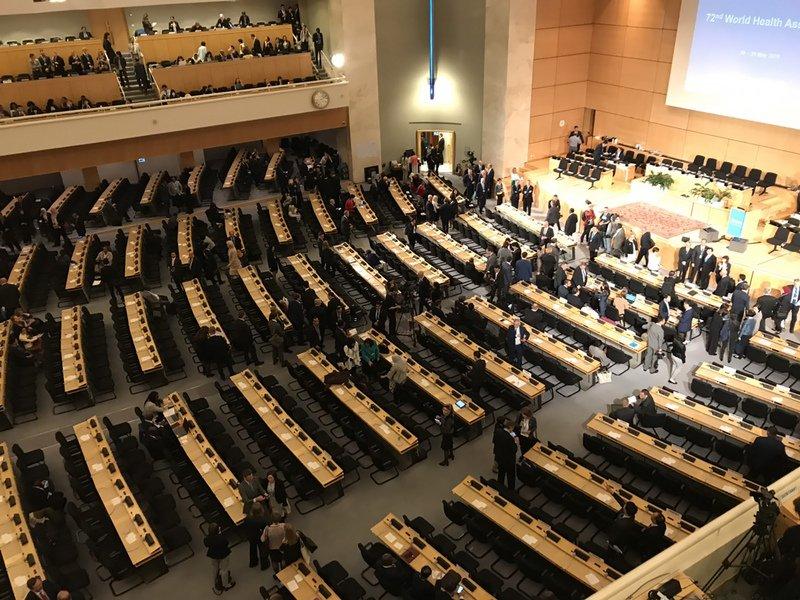 美媒:美國在WHO內部傳閱草案 支持台灣成為觀察員
