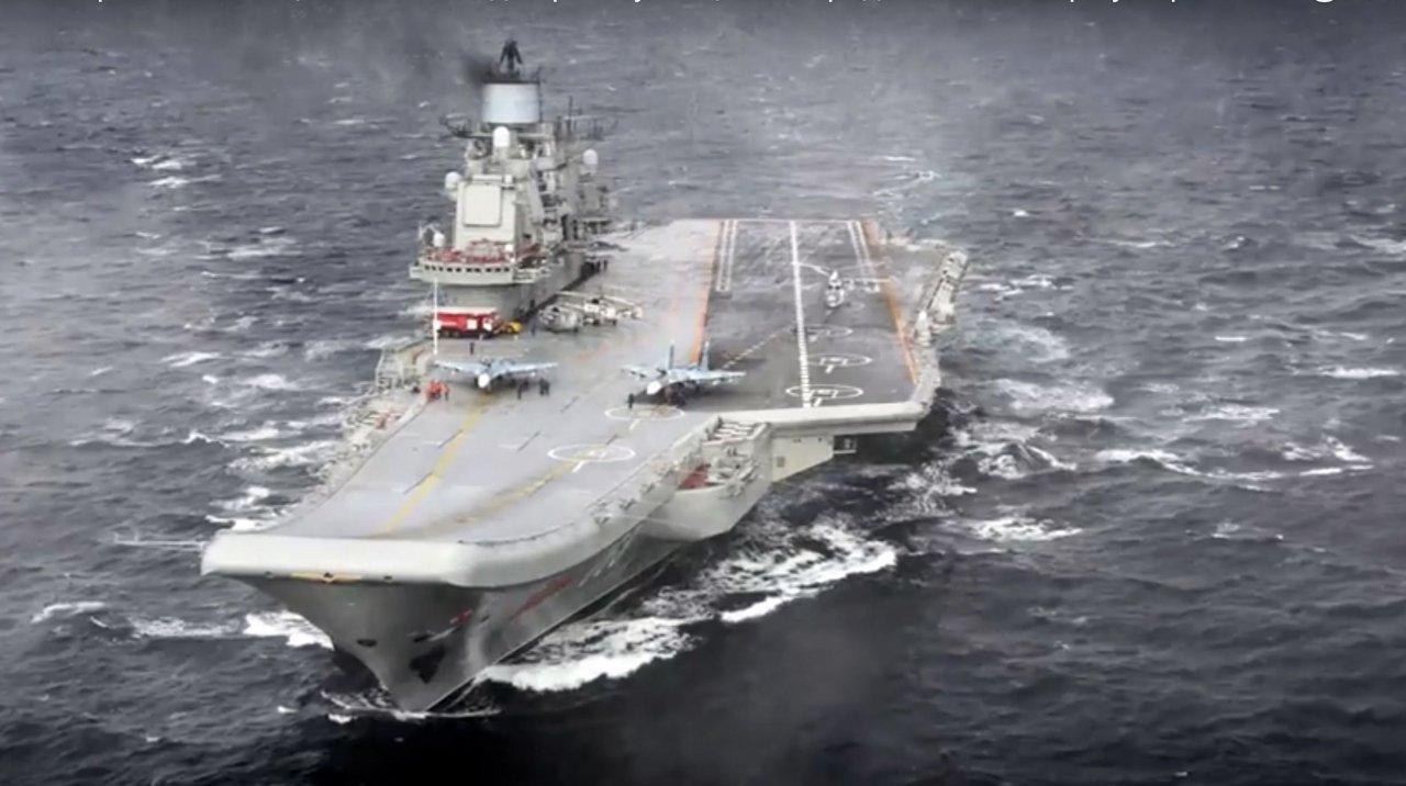 俄媒:俄不會請中國修理航母