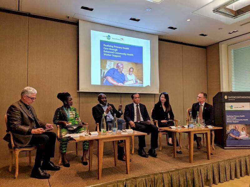 國合會攜手世界展望會 日內瓦合辦健康論壇