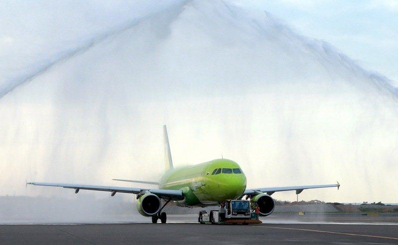 西伯利亞航空首航台灣 俄客嚮往南台灣陽光