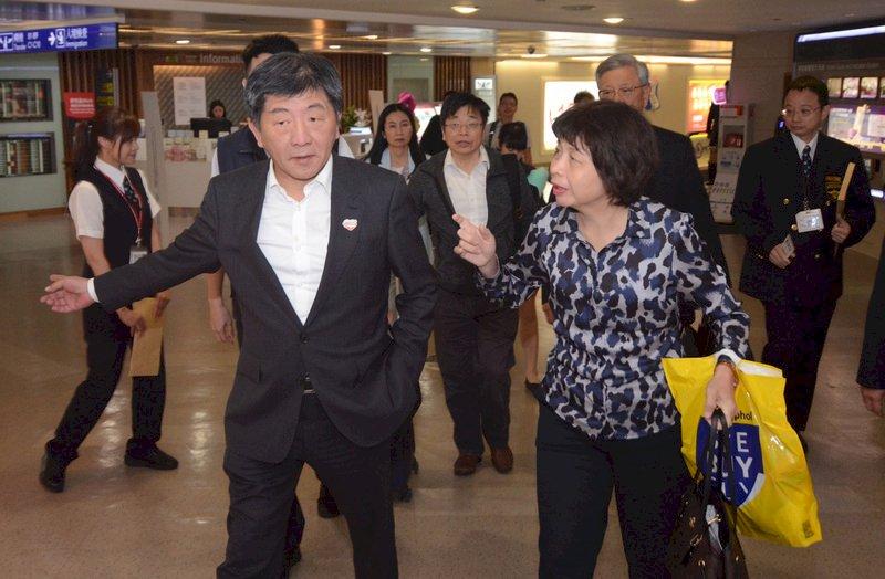 世衛行動團返台  陳時中:提升台灣全球聲量