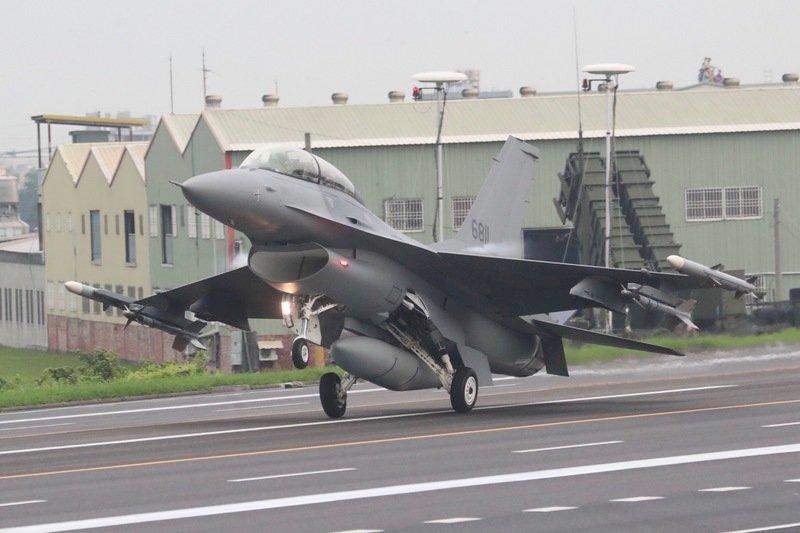國防部:F16戰隊有與美日協同作戰能力