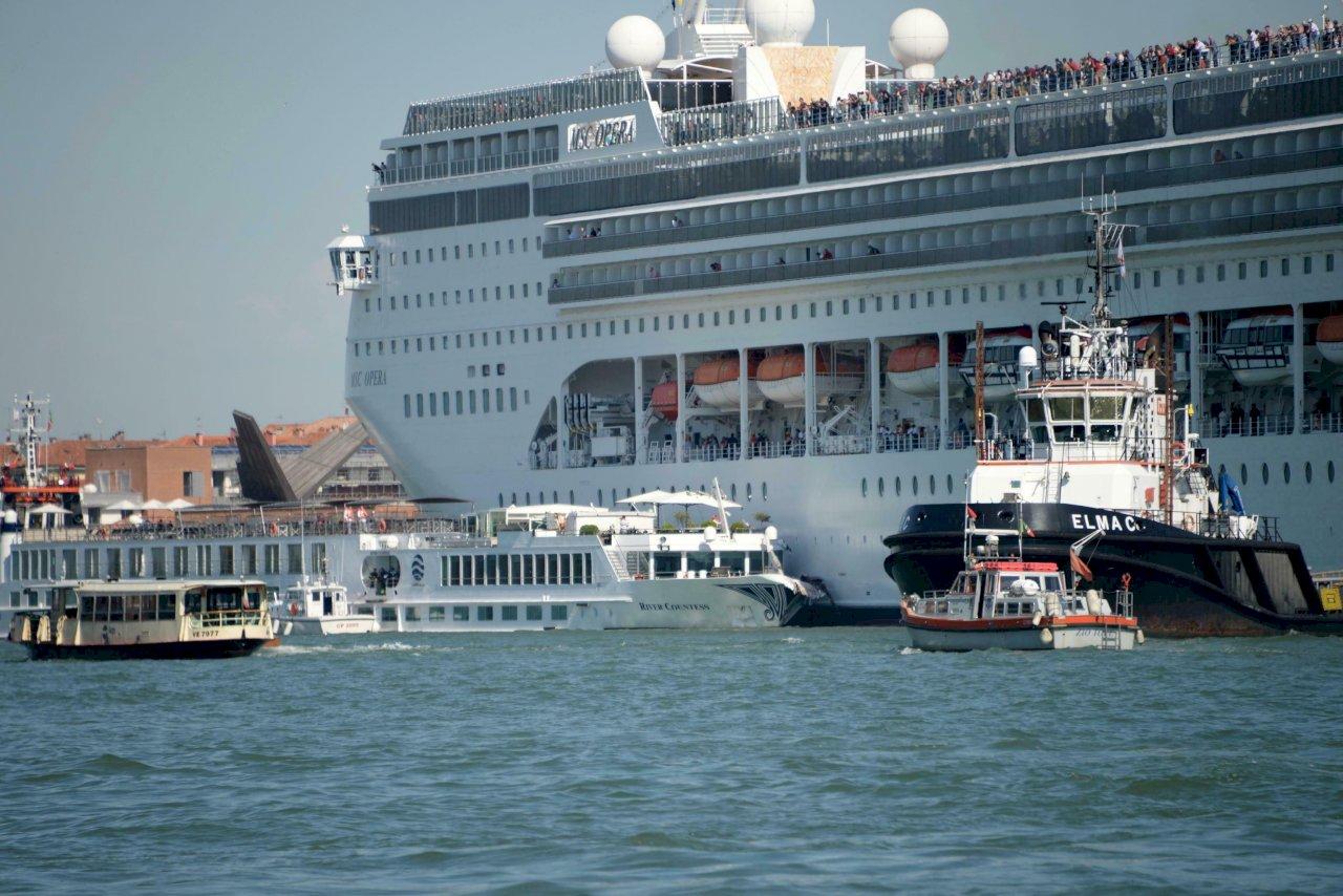 搶救世界遺產地位 義大利禁止豪華郵輪進入威尼斯中心區
