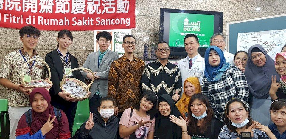 三總首度辦開齋節慶祝活動   向外籍穆斯林看護工致意