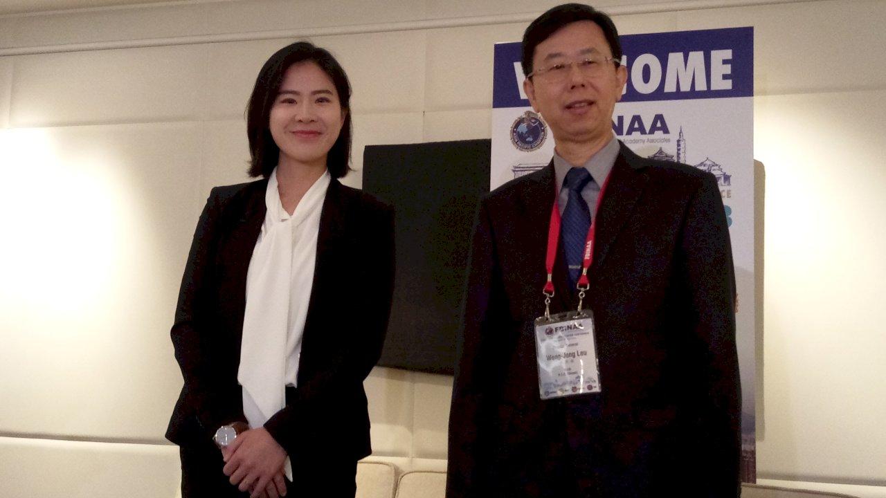 FBI校友首度齊聚台灣 美女調查官分享赴美「皮蛋外交」