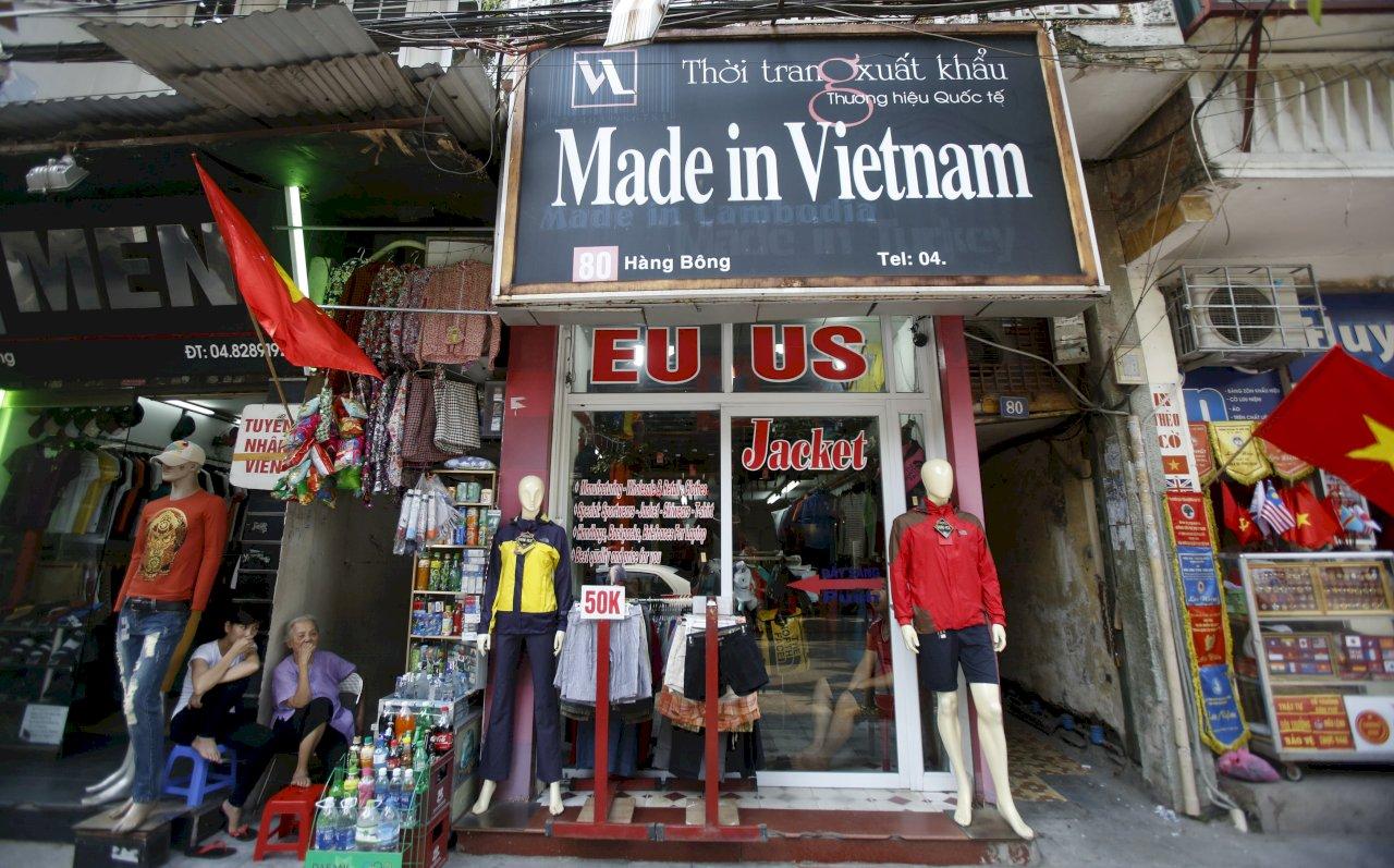 川普下一個貿易戰目標:越南