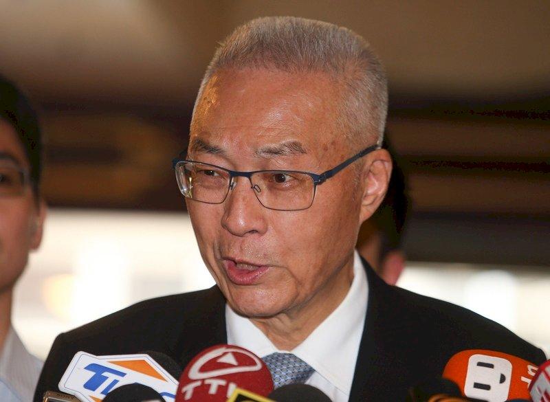 吳敦義批民進黨製造社會對立 啟動選舉機器模式
