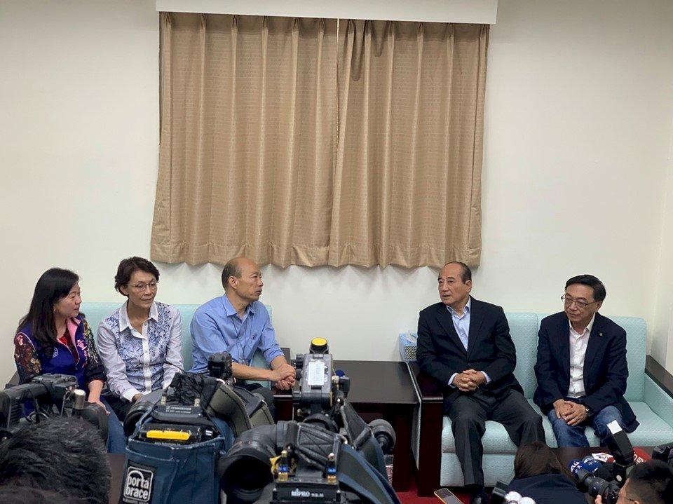 為防治登革熱 韓國瑜北上拜會藍綠立委、王金平