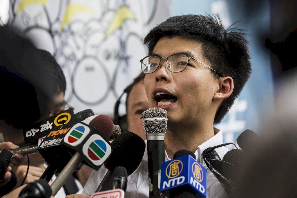 港區國安法箝制新聞自由 黃之鋒投書紐時誓言反抗