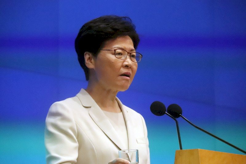 自言飽受攻擊 林鄭月娥強調會維護國家安全