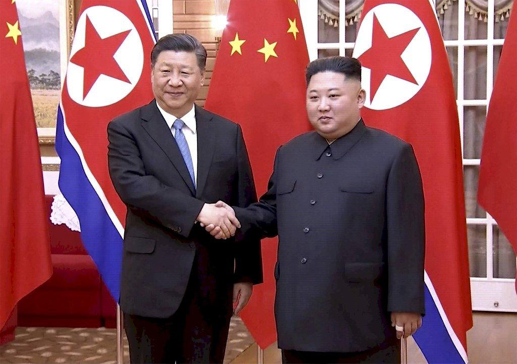 北韓高唱我愛你 習近平出訪非關兄弟情