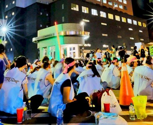長榮空服員工會輪值罷工靜坐  準備長期抗爭