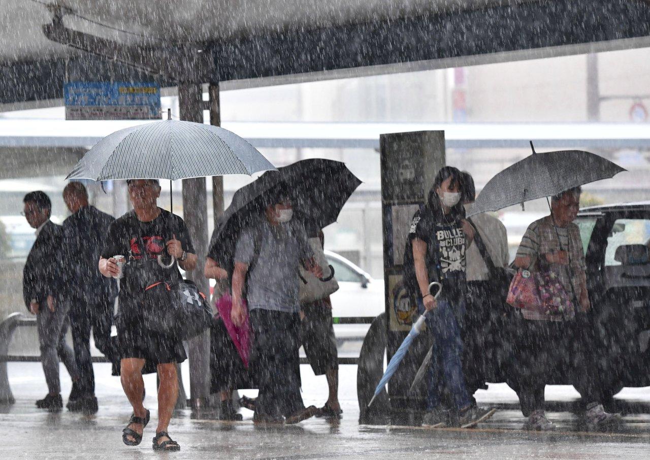 日本九州豪雨 逾12萬居民避難撤離