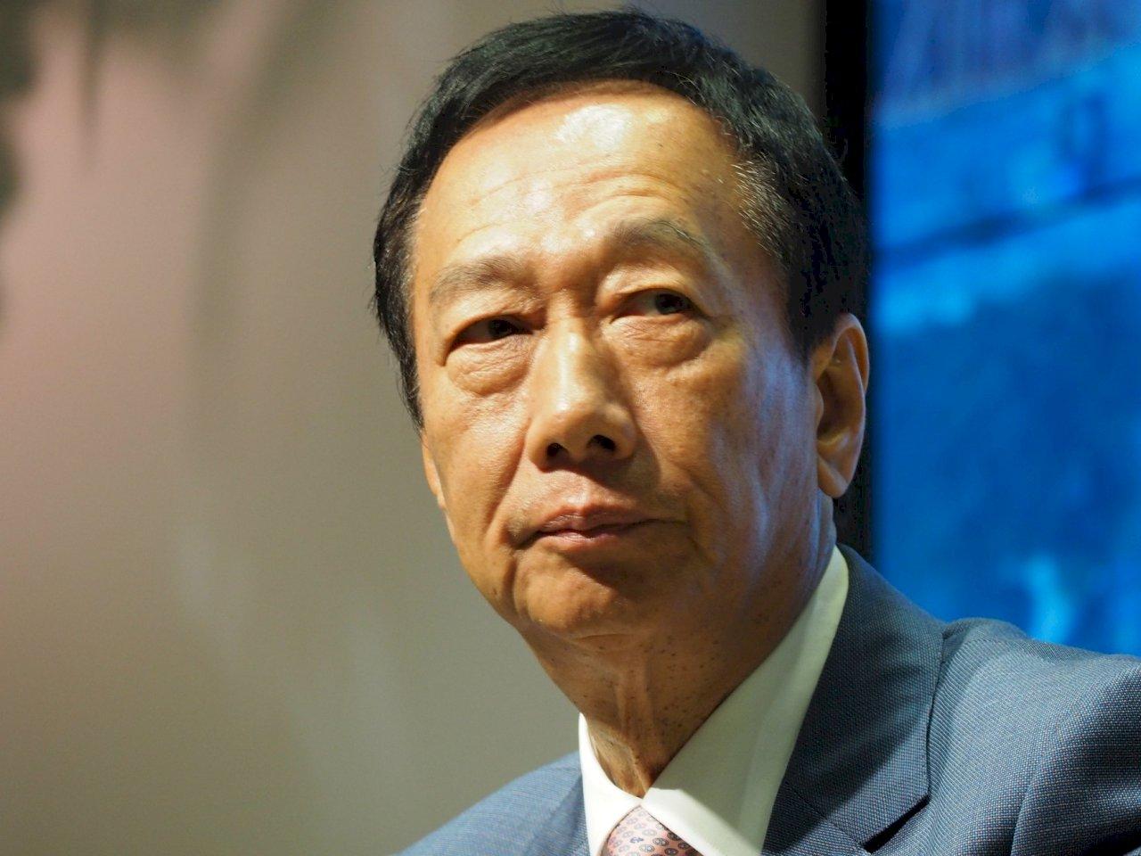 不選了 郭台銘:不參選總統 但不放棄參與政治