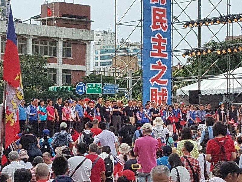 國民黨凱道會師 吳敦義籲初選後要團結