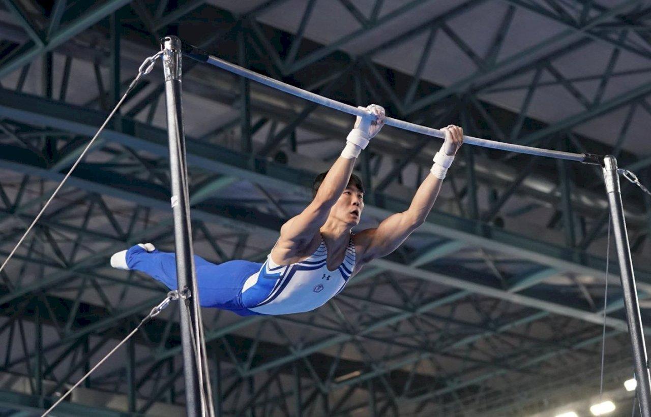 巴黎體操世界挑戰盃 唐嘉鴻單槓鍍銅