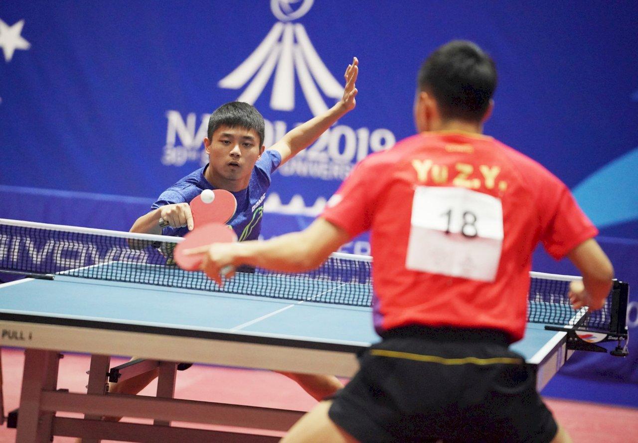 世大運桌球男團 台灣奪銀平隊史最佳