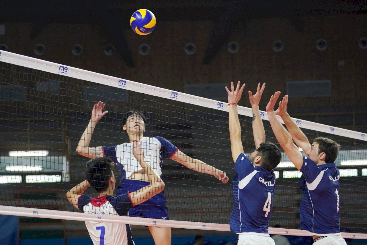 世大運中華男排逆轉勝智利 分組第2進8強