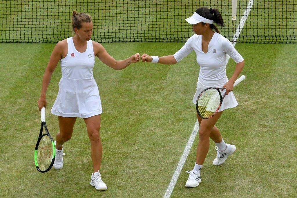 溫布頓女雙 謝淑薇擊敗法網冠軍闖進決賽