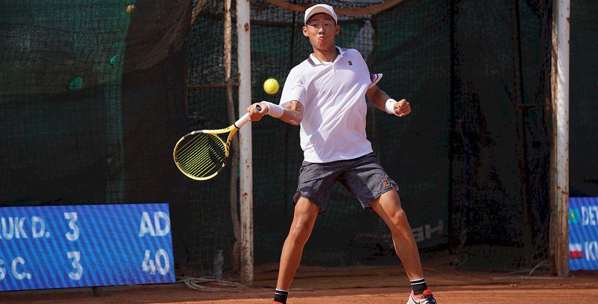 威風連拿11局 曾俊欣闖世大運網球男單決賽