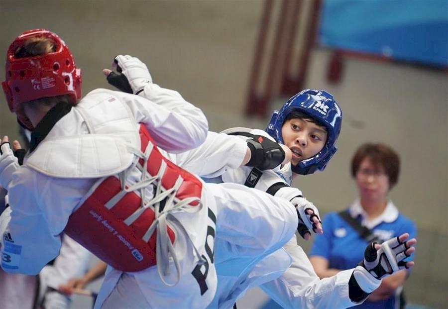 倒數15秒關鍵2分 世大運女子跆拳道中華摘金
