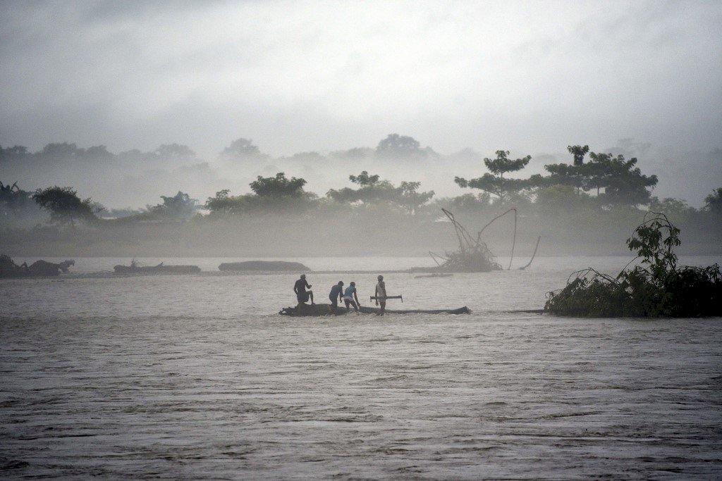 印度水災肆虐 45人喪生近7百萬人受影響