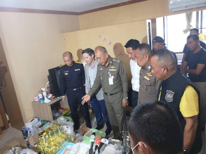 刑事局聯手泰美 曼谷破獲近百公斤毒品