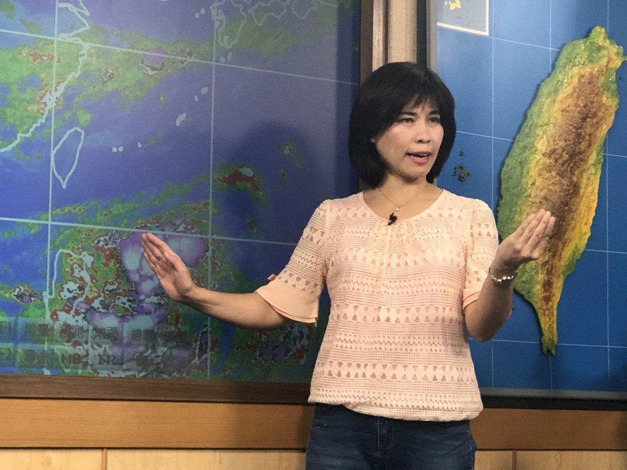 準颱丹娜絲即將成形 氣象局最快今晚發海警