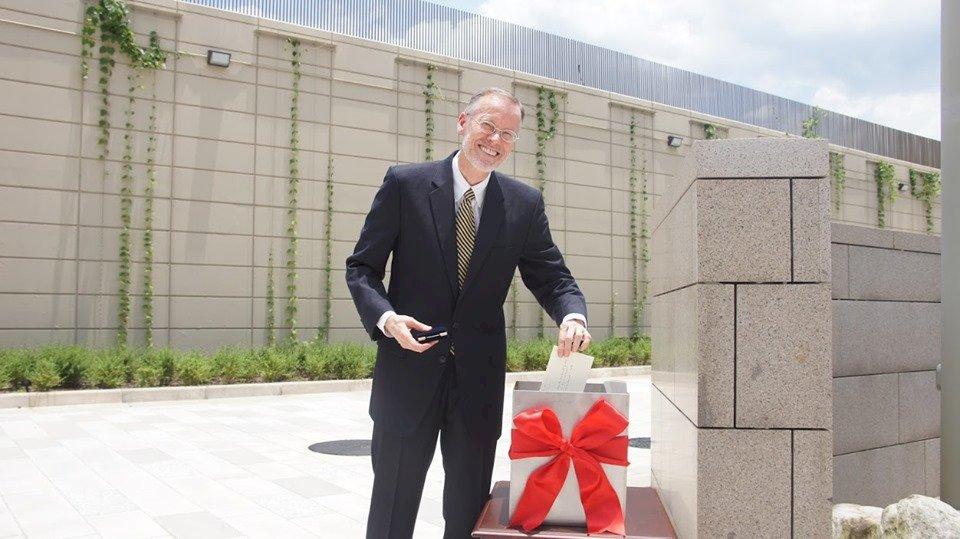 AIT新館正式埋下時空膠囊 酈英傑附上給繼任者的信