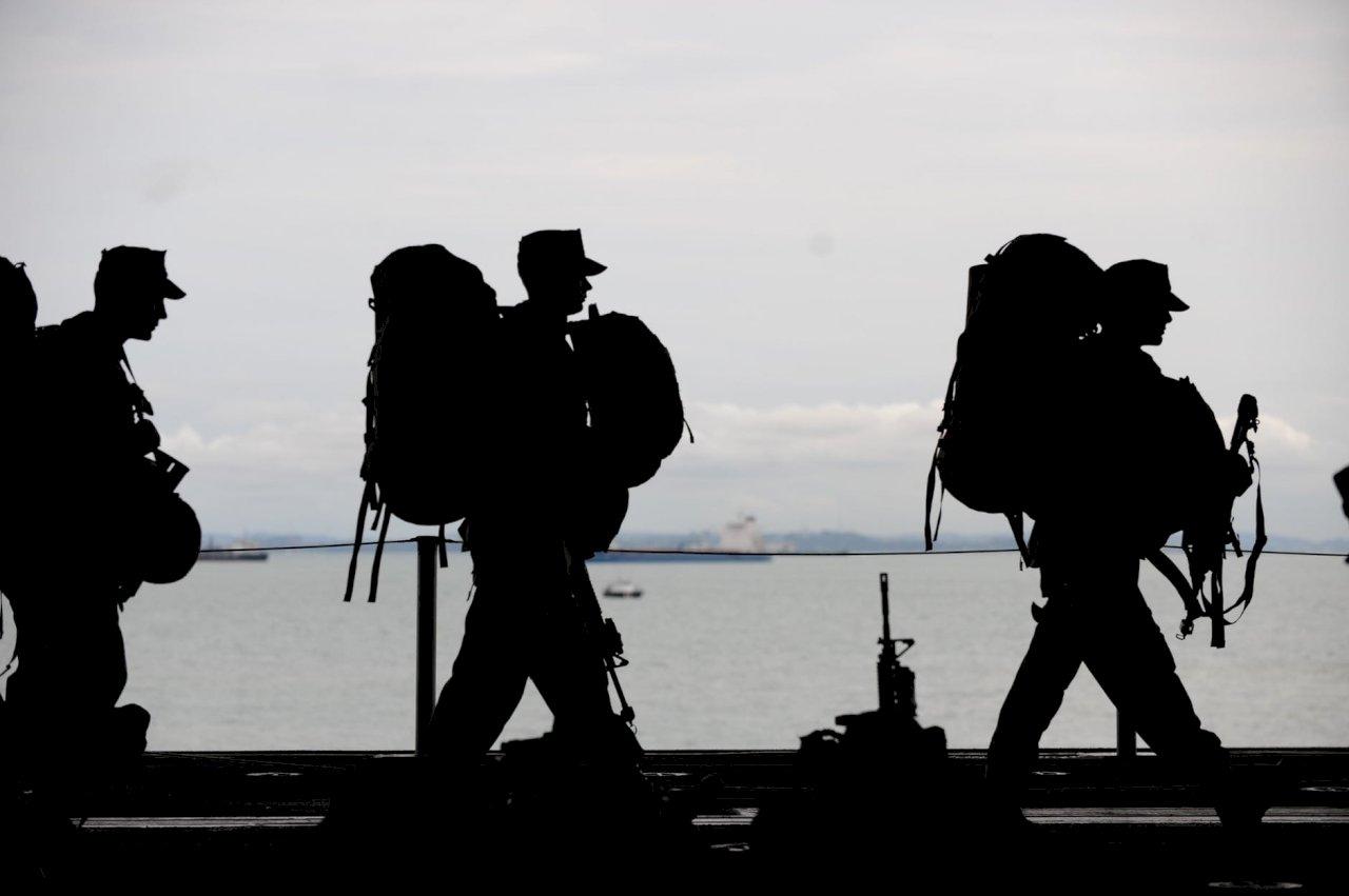 美軍駐沖繩陸戰隊染疫首例 未與基地外人接觸