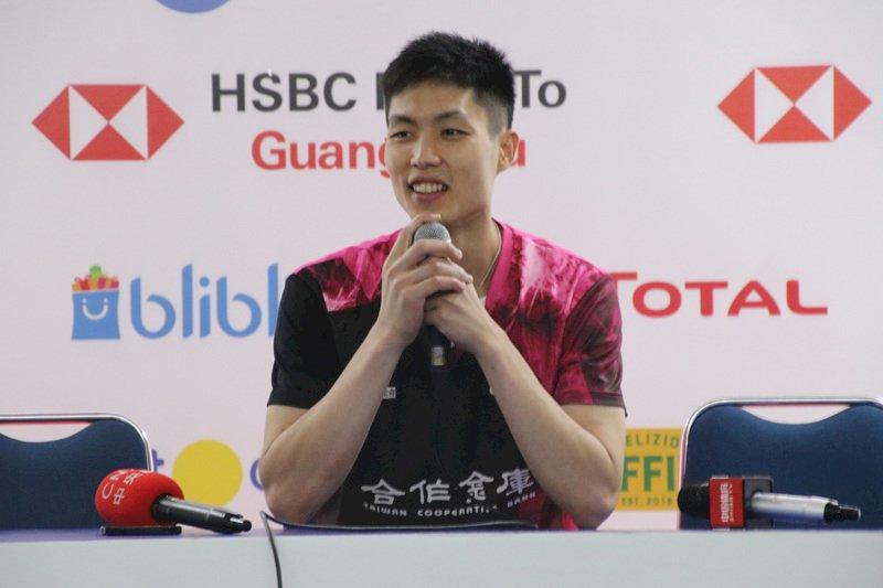 周天成印尼羽球賽奪冠 感謝台灣球迷支持