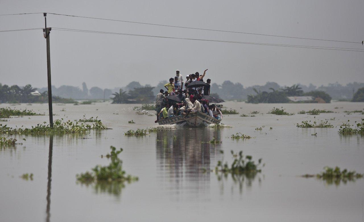 印度洪災釀160死 逾百萬人緊急避難