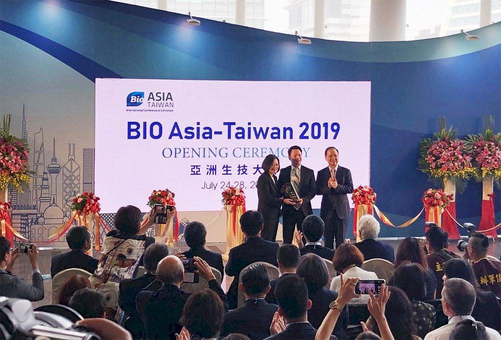 亞洲生技大會開幕 總統盼生醫產業成下一個兆元產業