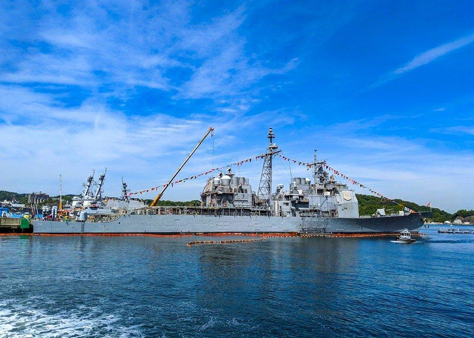 展現對自由印太承諾 美軍艦通過台灣海峽
