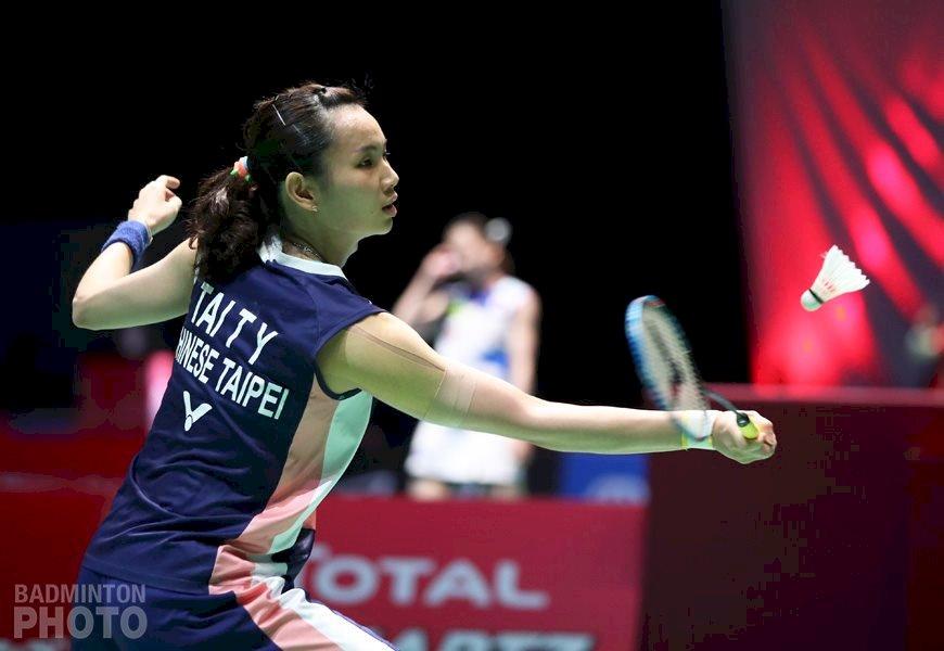 中國羽賽5組台將晉級 戴資穎周天成拚8強門票