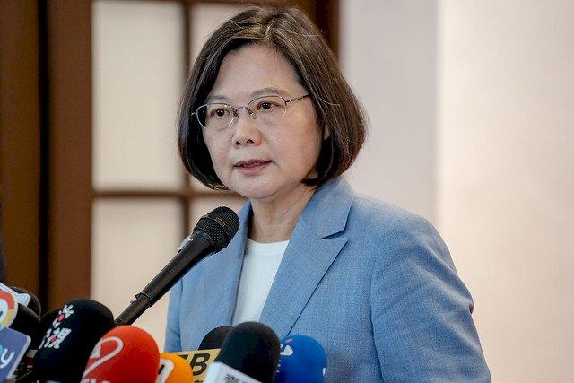 蔡總統:盼今天的台灣可以是明天的香港