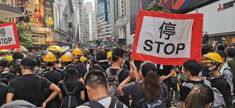 美國商會籲香港特首 解決示威民眾的不滿