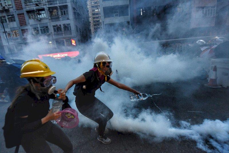 反送中遊行 香港美國商會籲港府正視抗爭者訴求