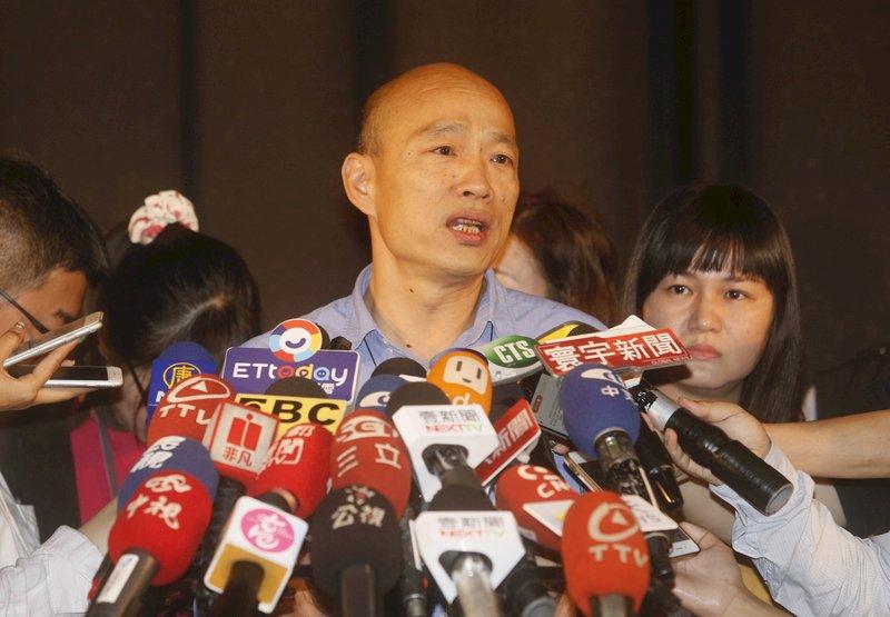 傳郭王會面 韓國瑜喊話:藍軍大團結