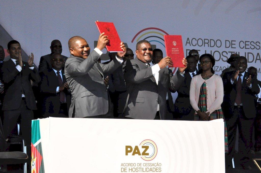 莫三比克政府與反對派簽訂協議 正式結束軍事敵對