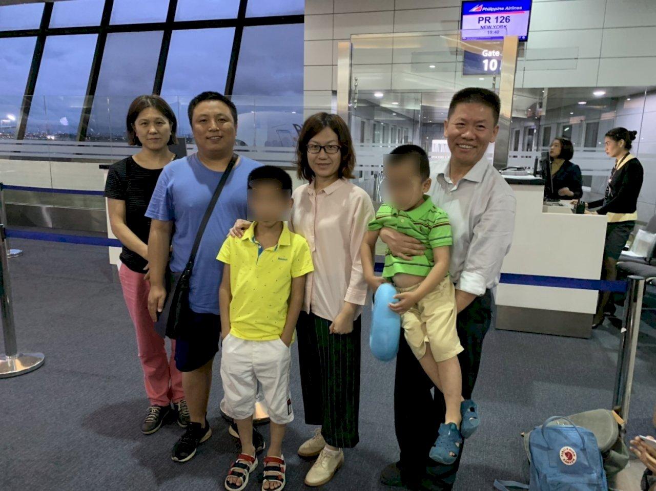 【獨家】擺脫中共監控! 709維權律師陳建剛成功赴美