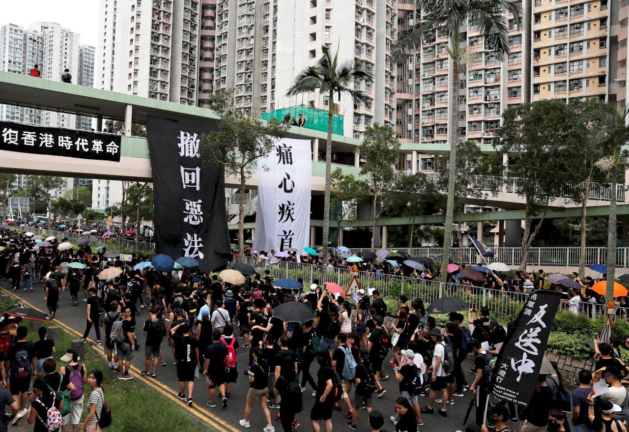 參與九龍集結 香港7民主人士遭判刑11至16個月